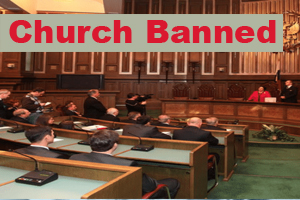 church banned sidebar